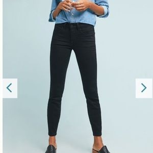 Pilcro by Anthropologie high-rise skinny jeans